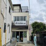 川崎市の電気工事店様・パネル看板
